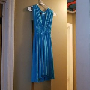 Turquoise Marilyn dress